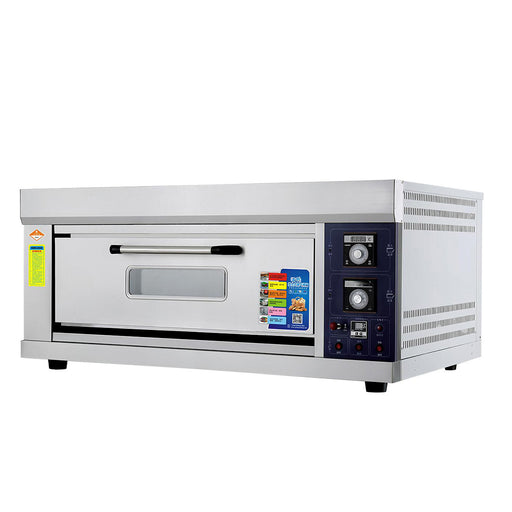 1 Deck 2 Tray Gas Deck Oven  (Economic Series)