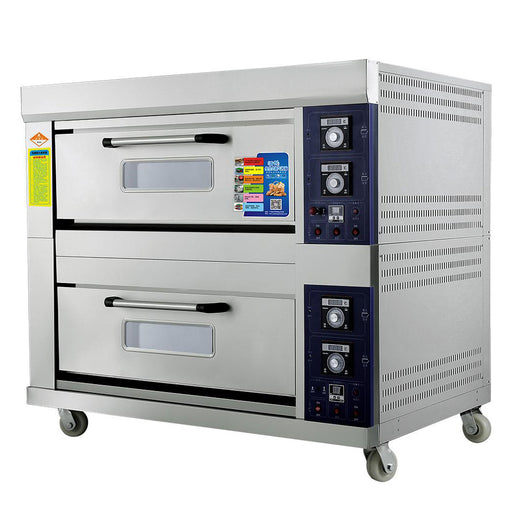 2 Deck 4 Tray Gas Deck Oven  (Economic Series)