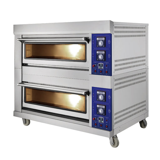 2 Deck 6 Tray Gas Deck Oven  (Standard Series)