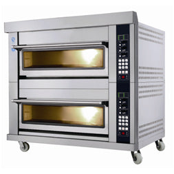 2 Deck 6 Tray Gas Deck Oven  (Smart Series)