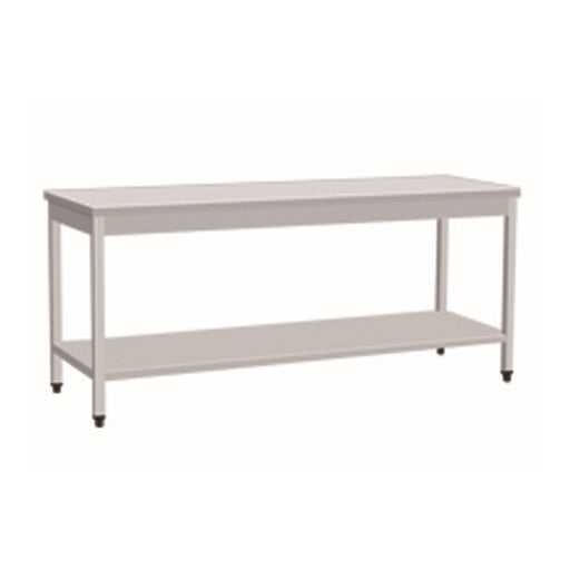 Stainless Steel Work Bench With 1 Under Shelf (Square Tube Leg)