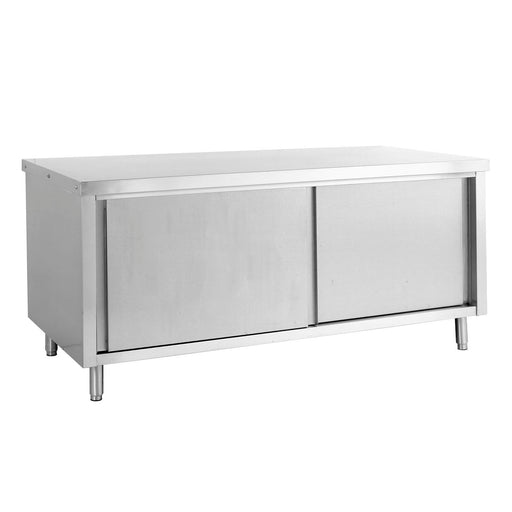 Stainless Steel Cabinet with Sliding Door (Through type)