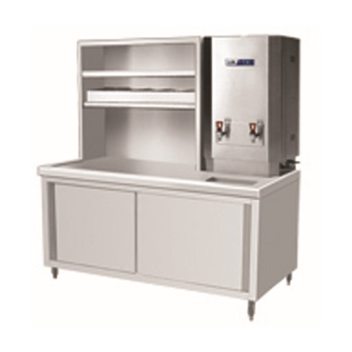 Stainless Steel Tea Service Cabinet