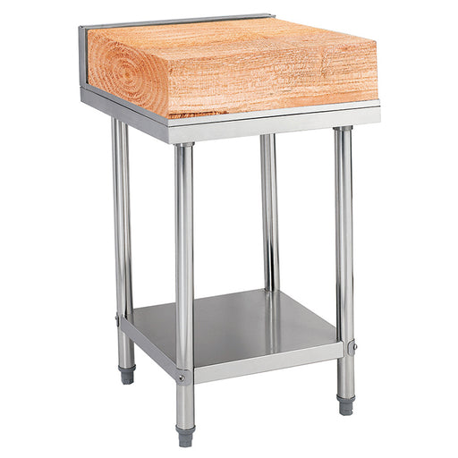 Stainless Steel Bench With Wooden/Plastic Cutting Board