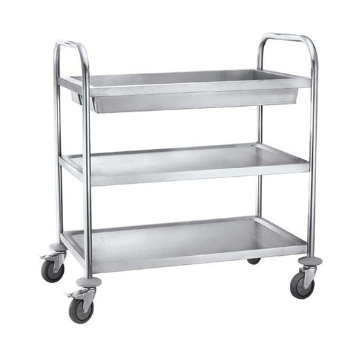 3-Tier Round Tube Clearing Trolley