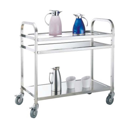 Square Tube Kettle Trolley