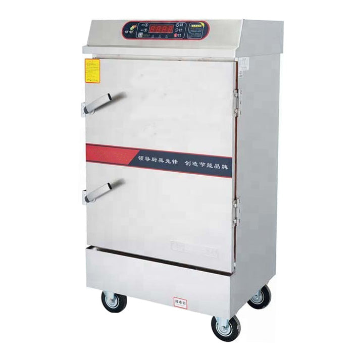 Fully Automatic Electric Steamer - 12 Tray