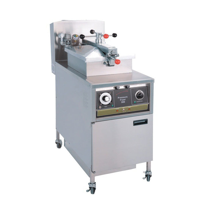 Electric Pressure Fryer with Oil Pump (Mechanical Control)