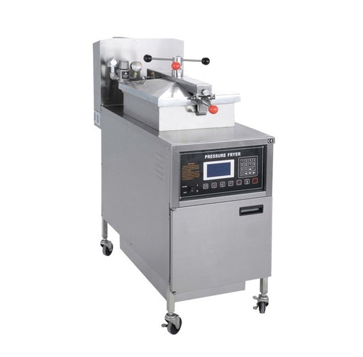 Electric Pressure Fryer with Oil Pump and LCD Panel (Digital Control)