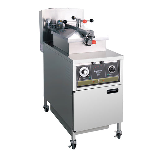 Gas Pressure Fryer with Oil Pump (Mechanical Control)