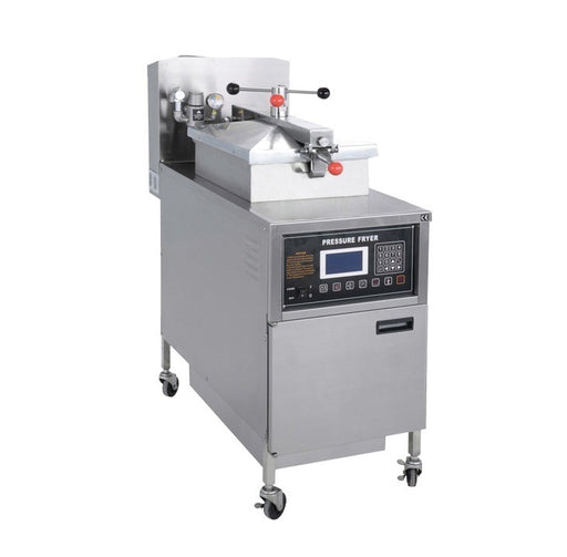 Gas Pressure Fryer with Oil Pump and LCD Panel (Digital Control)