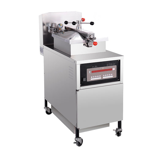 Gas Pressure Fryer with Oil Pump (Digital Control)