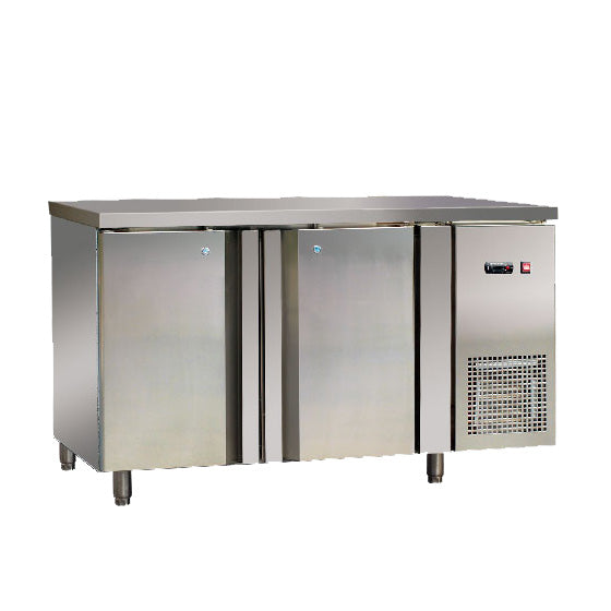European Style Counter Refrigerator With Double Door (Standard Ventilated Series)