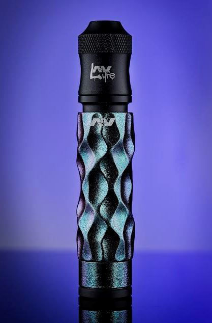 The Dimple Chameleon Gyre Mechanical Mod by Avid Lyfe