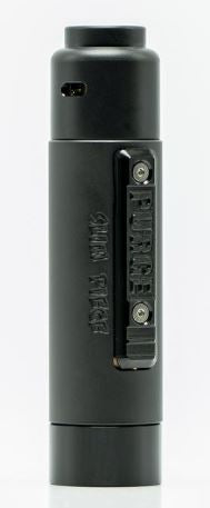 Murdered Out Slim Piece Mechanical Mod by Purge Mods