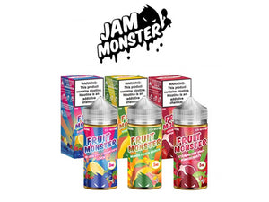 Fruit Monster E-Liquid - Delicious Fruity Flavors by Jam Monster