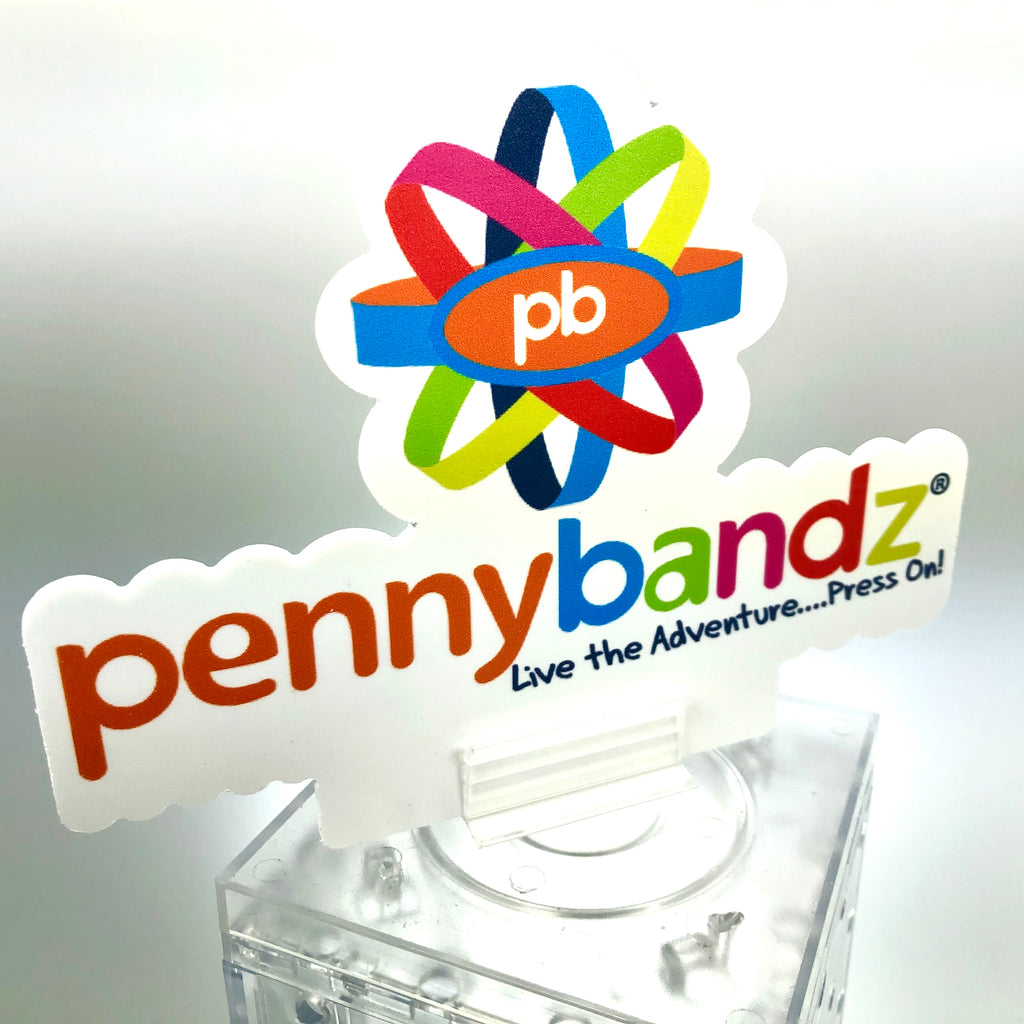 FREE Pennybandz sign topper for your current display!