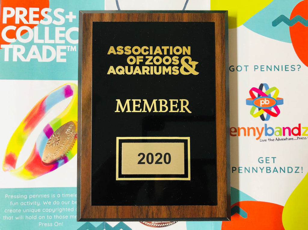 Pennybandz is proud to be a part of The Association of Zoos and Aquariums (AZA) #AZAMember ...Press On!