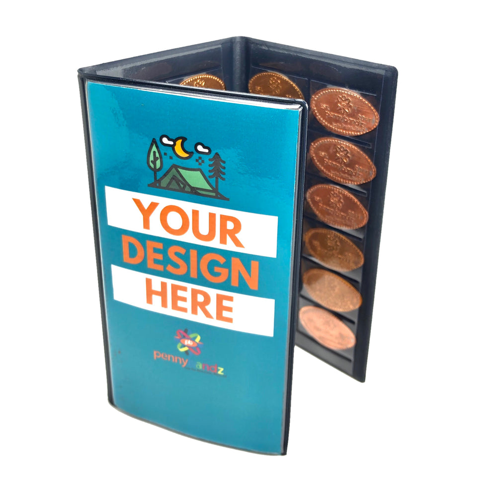 Pennybandz Penny Collector Pressed Penny Books -- Order in increments of 5 only