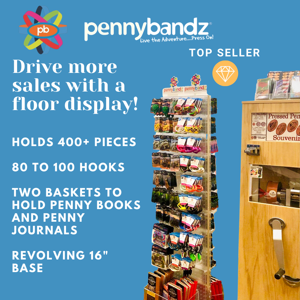 Pennybandz Displays - engage customers with visual merchandising - boost your ROI!