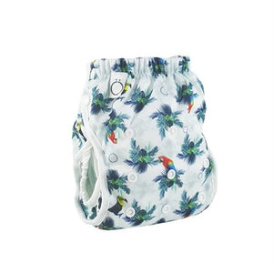 Couche-maillot lavable, Motif Big Island, Omaiki