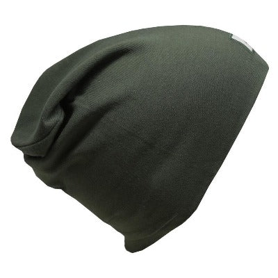 Tuque de coton ultra stylée, modèle Boston, L&P Apparel, vert camo