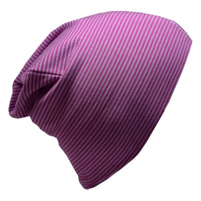 Tuque de coton ultra stylée, modèle Boston, L&P Apparel, mauve & lilas