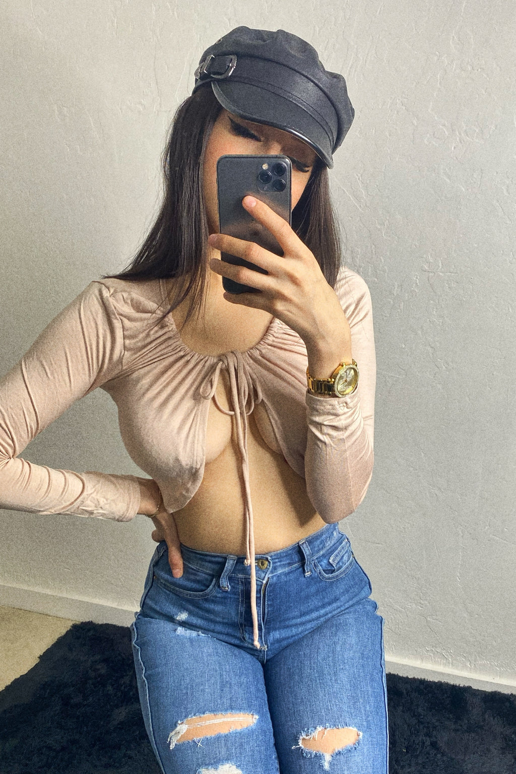 Mood swings nude top