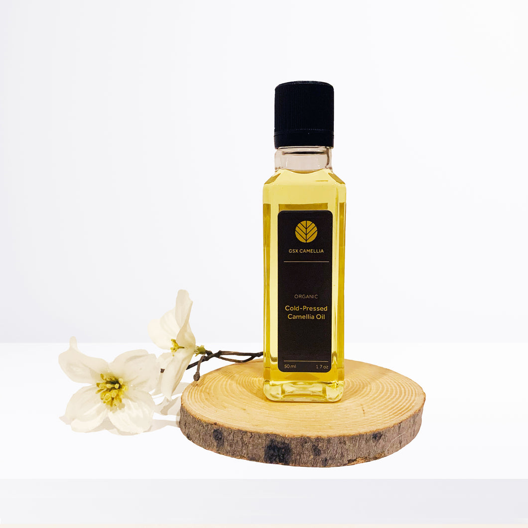 Organic Virgin Camellia Oil (Cold-Pressed)