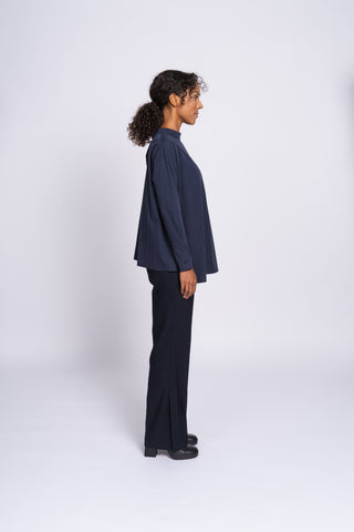 THE CONVERTIBLE SHIRT - blissful blue