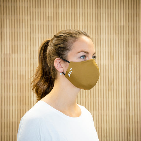 The Face Mask camel - on person - right side