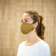 The Face Mask camel - on person - left side