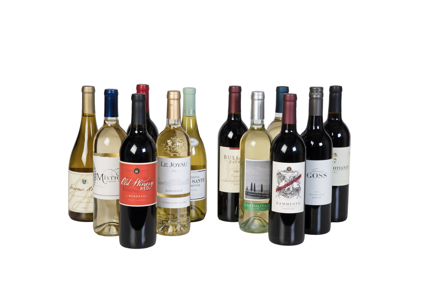 Wine Case Special - 12 Bottle Wine Pack Deal - Wine on Sale