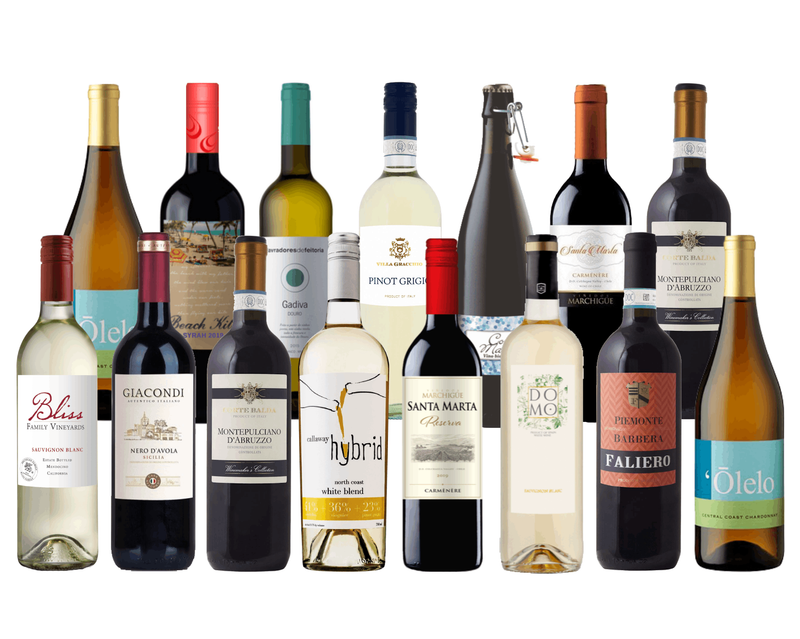 WEEKEND SALE: 15 Bottles of Wines For the Holidays