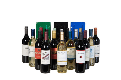 Groupon - Holiday 18 Pack Wine + 3 Holiday Gift Bags - Wine on Sale