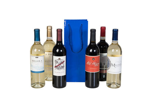 Groupon - Holiday 6 Pack Wine + 1 Holiday Gift Bag - Wine on Sale