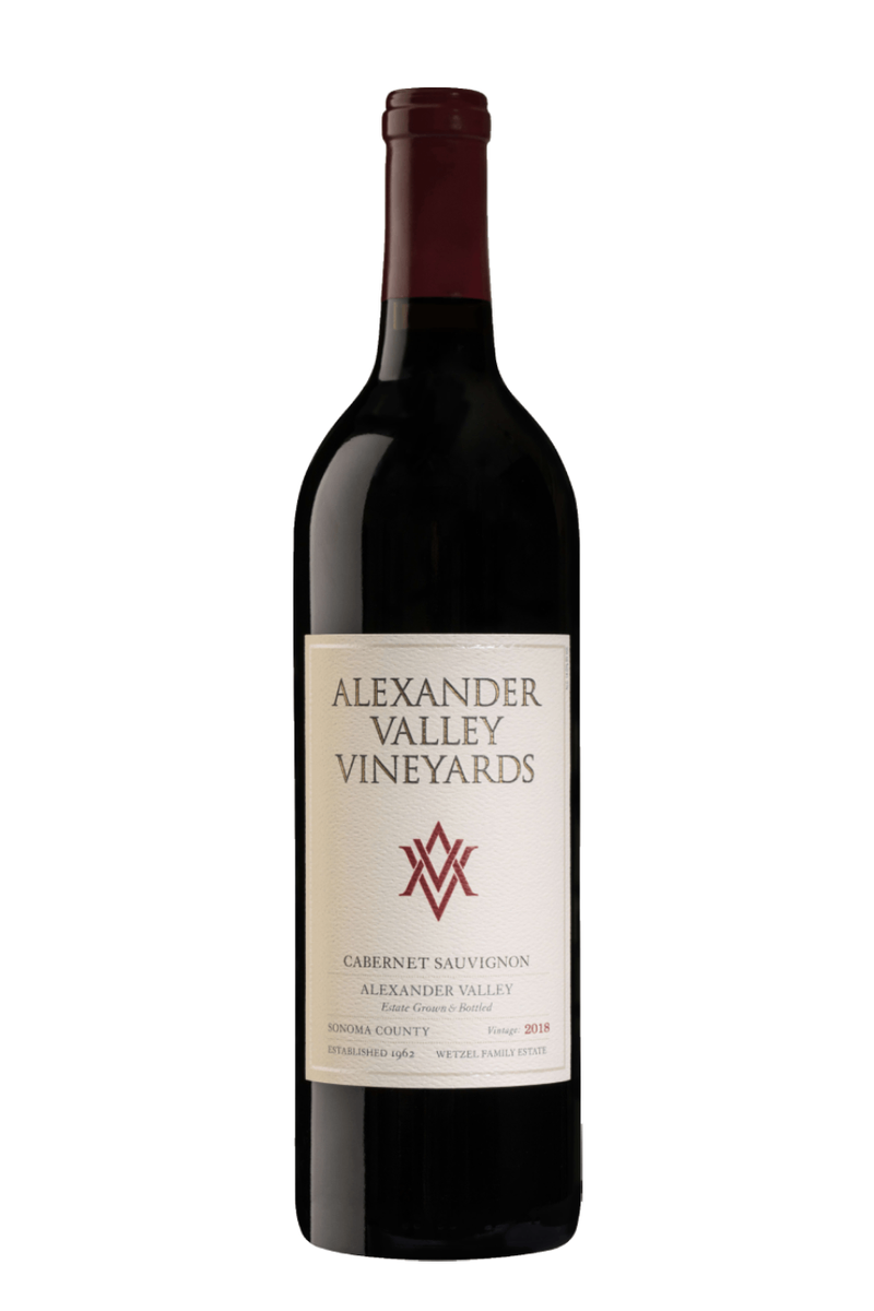 Alexander Valley Vineyards Cabernet Sauvignon 2017 - 750 ML