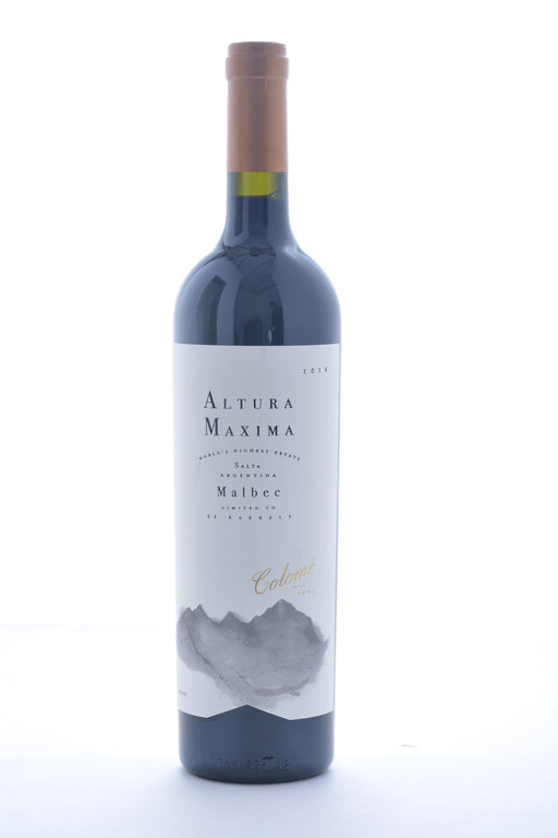 Bodegas Colome Altura Maxima Malbec 2014 - 750 ML - Wine on Sale