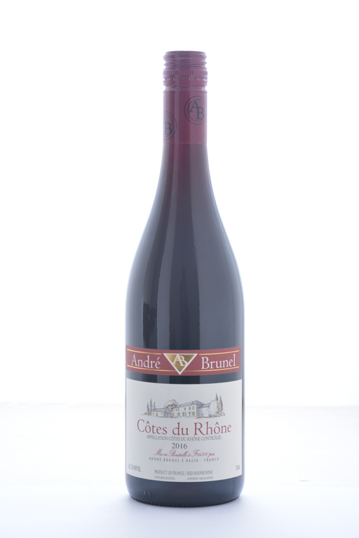 Andre Brunel Cotes du Rhone 2016 - 750 ML - Wine on Sale