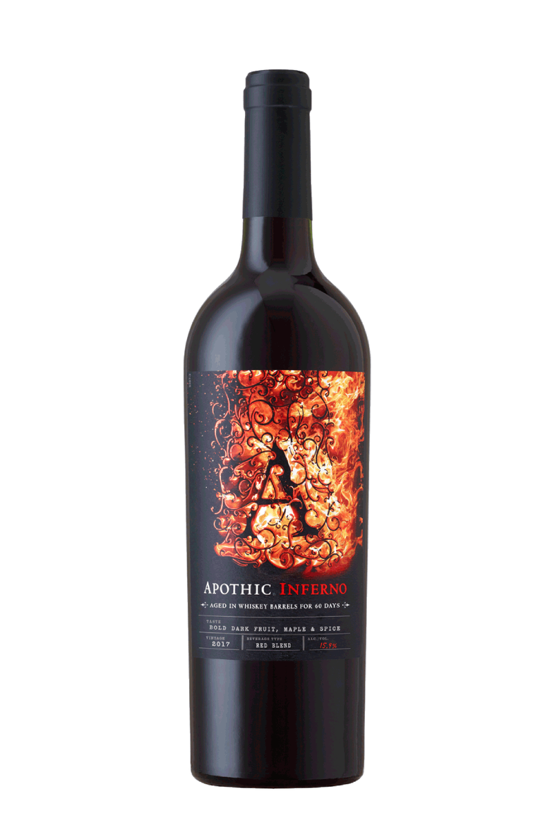 Apothic Inferno Red Blend 2018 - 750 ML