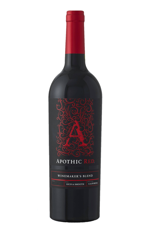 Apothic Red Blend Winemaker's Blend Wine 2018 - 750 ML