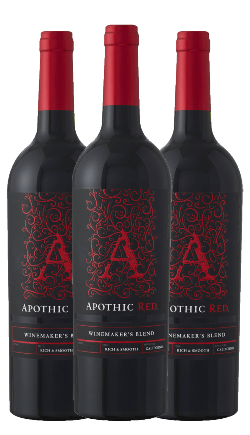 Groupon Apothic Red Blend Wine - 3 Pack