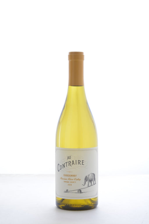 Au Contraire Russian River Chardonnay 2016 - 750 ML - Wine on Sale