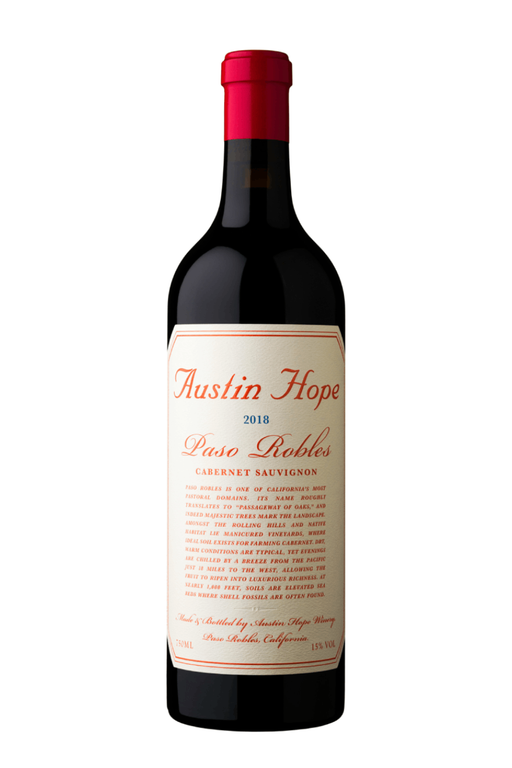 Austin Hope Cabernet Sauvignon 2018 - 750 ML