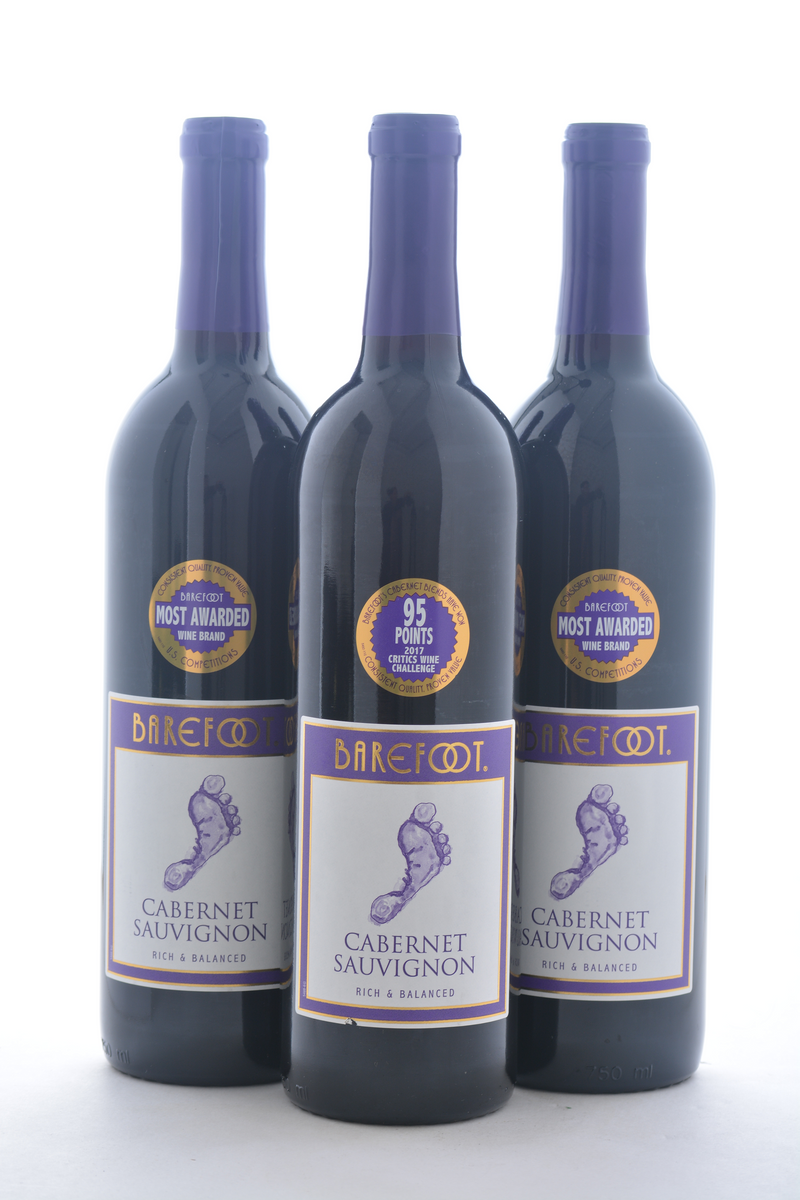 Groupon Barefoot Wine - 3 Pack - Wine on Sale