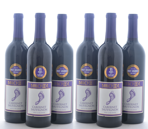 Groupon Barefoot Wine - 6 Pack - Wine on Sale