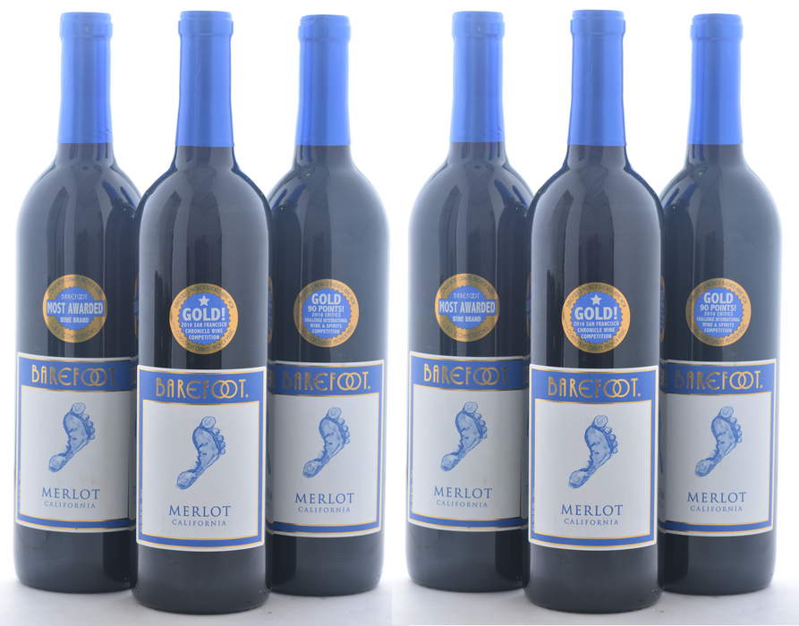 Groupon Barefoot Wine - 12 Pack - Wine on Sale
