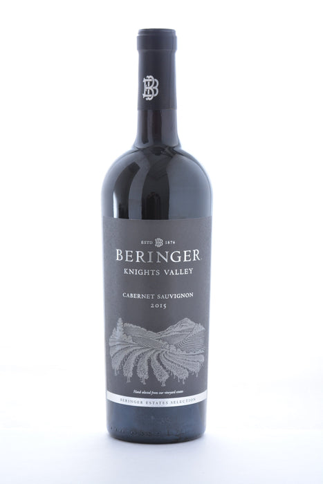 Beringer Knights Valley Cabernet Sauvignon 2015 - 750ML - Wine on Sale