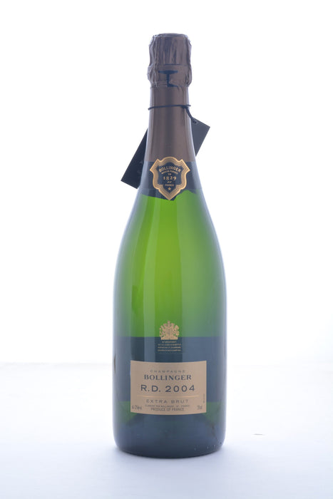 Bollinger R.D. Extra Brut Champagne 2004 - 750 ML - Wine on Sale