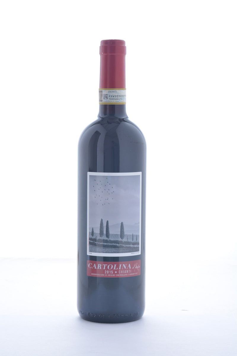 Cartolina Chianti 2015 - 750 ML - Wine on Sale